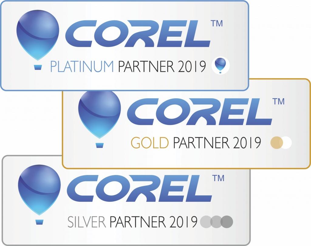 Партнёрские статусы Corel